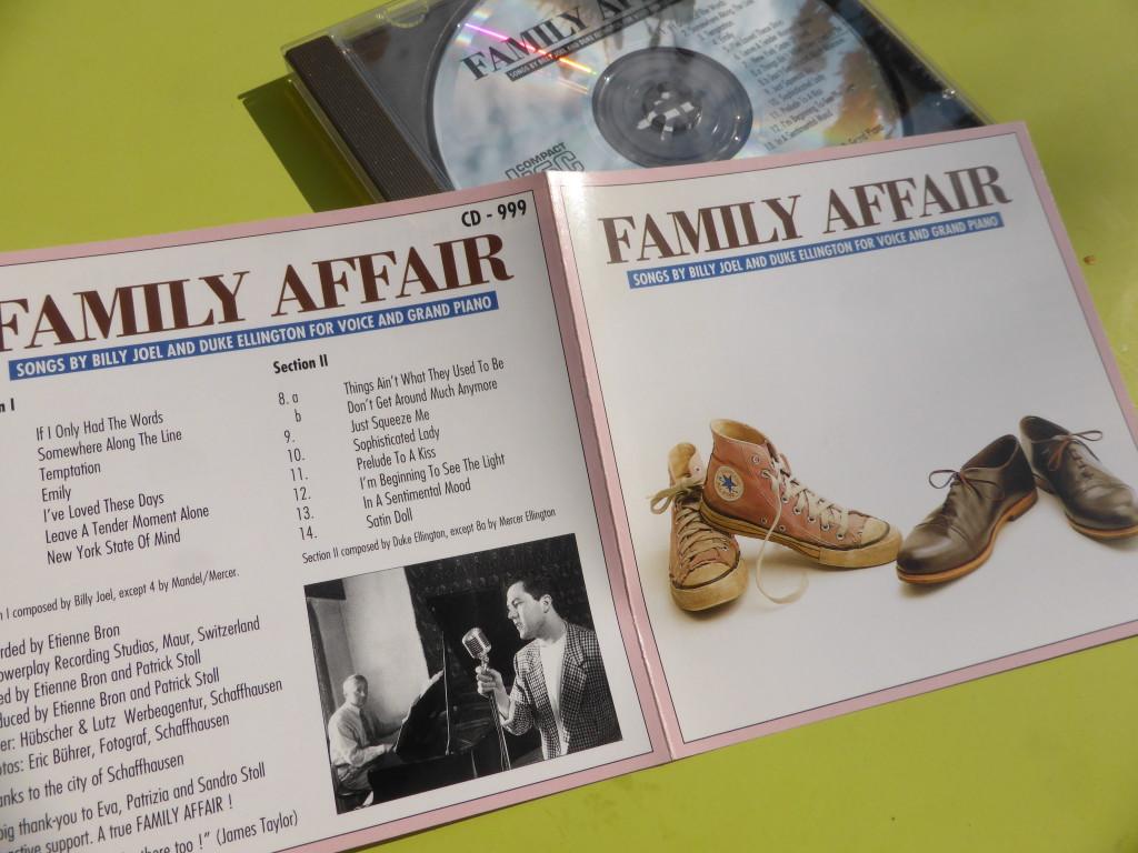 Eine Hommage an Billy Joel und Duke Ellington. Die musikalische Familienangelegenheit von Vater und Sohn aus dem Hause Stoll. Ich vermisse ihn.