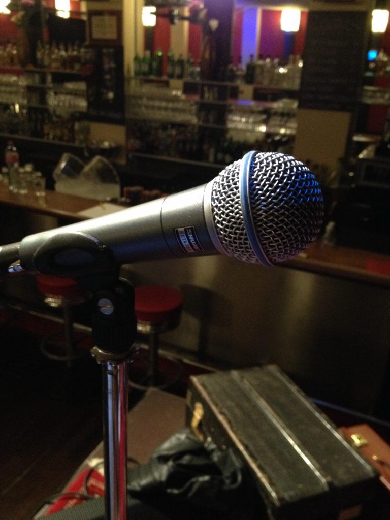 Am Soundcheck für die Première im Orient 11.11.16