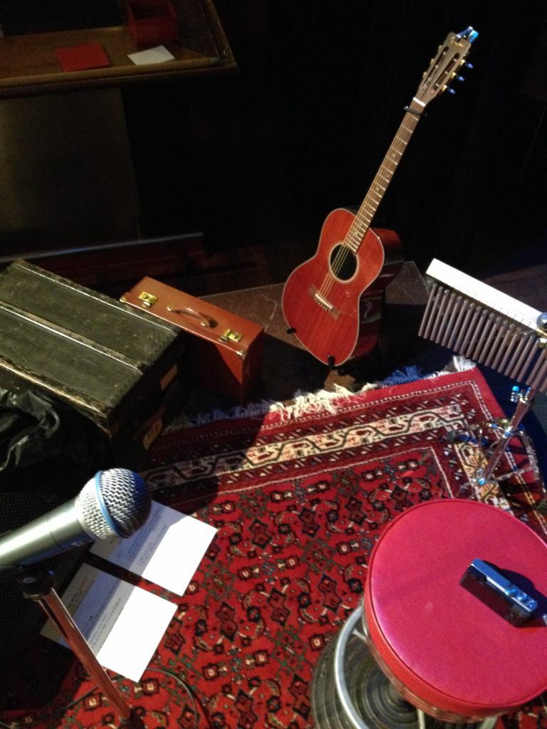 Soundcheck vor dem Premièren-Konzert am 11.11.16.
