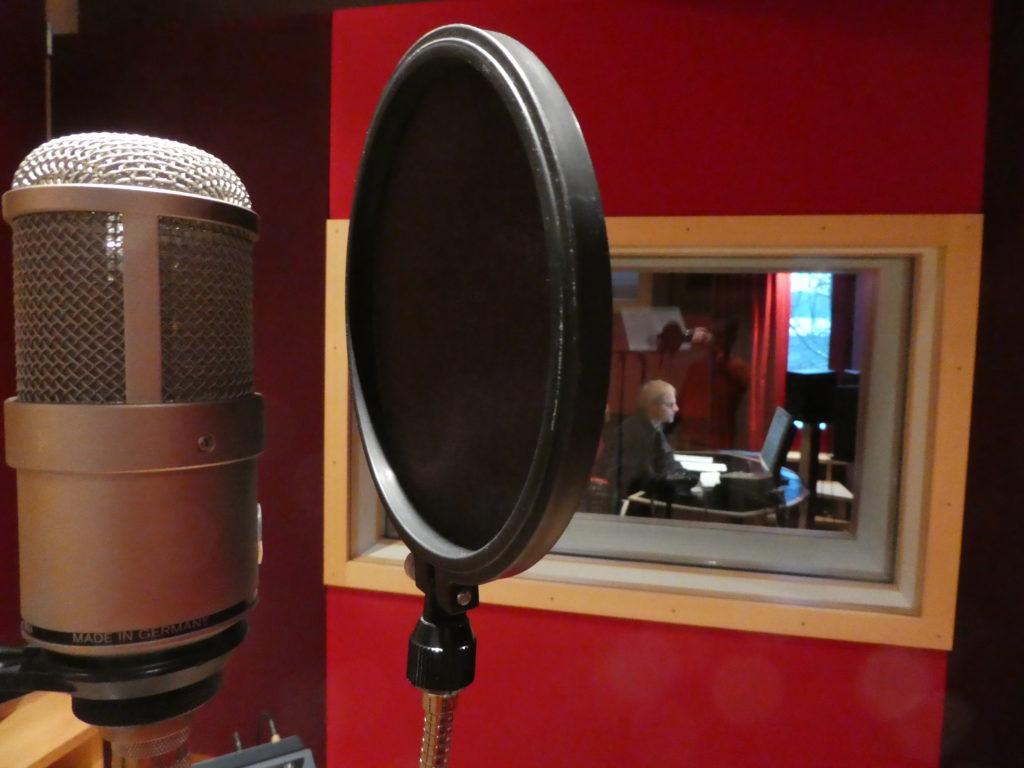 """Studionachmittag für die Session """"Missing You"""". Aus der Sicht des Sängers. Aus der Sicht des Sängers."""